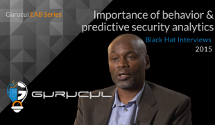 Importance of behavior & predictive security analytics