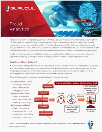 Fraud Analytics Datasheet