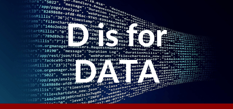D is for Data