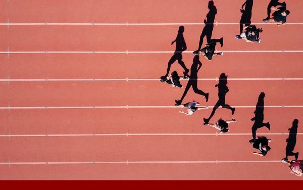 runners on track competing machine learning siem