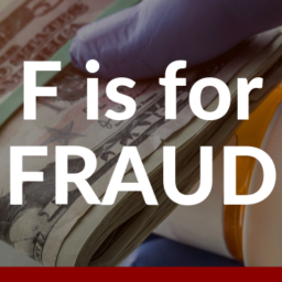 F is for Fraud