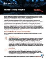 Unified Security Analytics Datasheet-Thumb