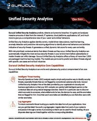 Unified Security Analytics Datasheet-Thumb