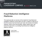 KuppingerCole Leadership Compass - Fraud Reduction Intelligence Platforms