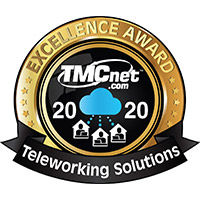2020 TMCnet Teleworking Solutions Excellence Award: Security