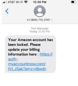 Your Amazon Account is Locked
