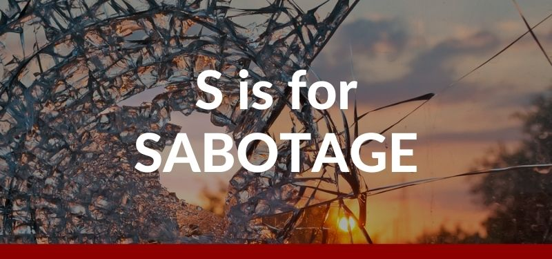 ABCs of UEBA: S is for Sabotage