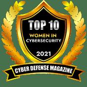 TOP 10 WOMEN IN CYBERSECURITY